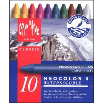 Neocolor II Watersoluble Caran d'Ache (10τεμ)
