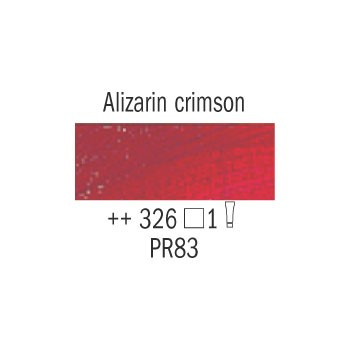 Λάδι Van Gogh Talens 20ml, Alizarin Crimson