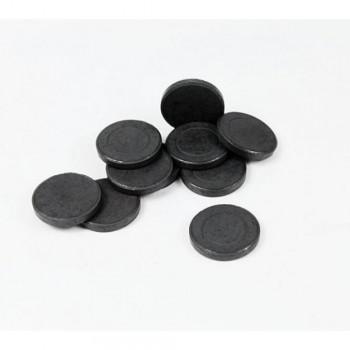 Σετ 10 Μαγνητάκια Στρογγυλά 25mm Πάχους 3 mm