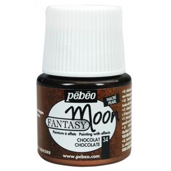 Fantasy Moon Colors (Pebeo) 45ml, Chocolate