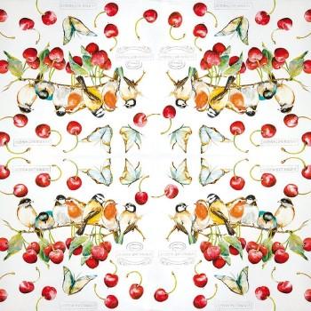 Χαρτοπετσέτα για Decoupage, Cherry Birds / 211530