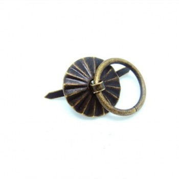Μεταλλικό Διπλόκαρφο 19mm