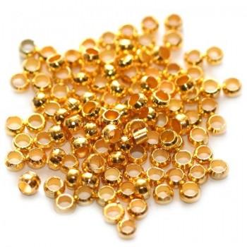 Στοπάκια Χρυσό Χρώμα 2.5mm (~100τεμ)