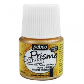 Fantasy Prisme Colors 45ml (Pebeo), Summer Yellow