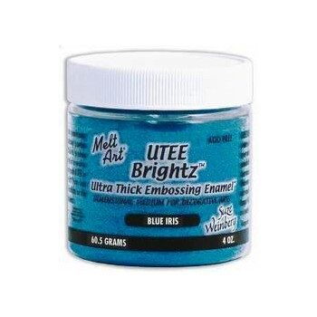 UTEE Brightz Embossing Powder 4 oz. (Blue Iris)