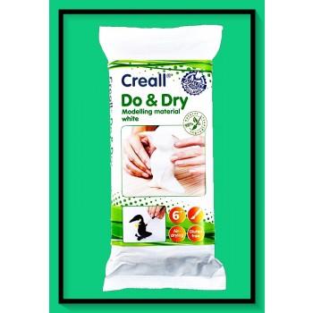 Πηλός Λευκός Αυτοξηρούμενος CREALL DO & DRY 500gr