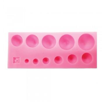 Καλούπι Σιλικόνης Καλούπι Σιλικόνης 13x5,2x1,5cm, Πέρλες