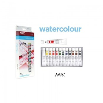 Σετ Ακουαρέλας ARTIX PP171 σε Σωληνάριο 12ml , 12 χρωμάτων
