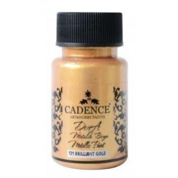 Dora metallic Cadence 50 ml, Brilliant Gold / DM121