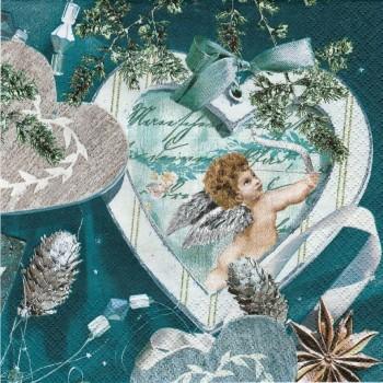 Χαρτοπετσέτα για Decoupage, Winter Love / 611130