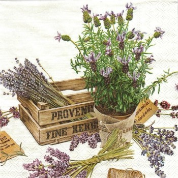 Χαρτοπετσέτα για Decoupage, The Flavor of Provence / L-567700