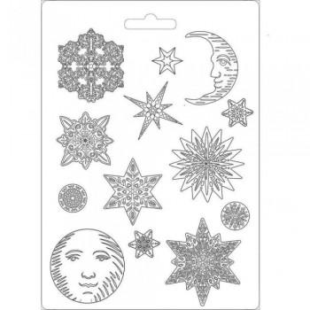 Καλούπι Soft Maxi Mould A4 Stamperia, Snowflakes / K3PTA473