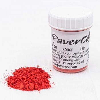 Pavercolor Κόκκινο 40ml
