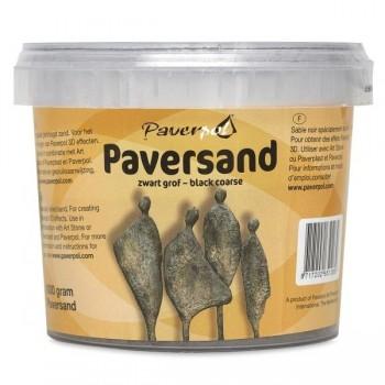 Σκόνη Paversand Σε Μαύρο Χρώμα 1000 Γρ. ( 3 D Πάστα )