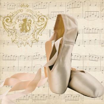 Χαρτοπετσέτα για Decoupage, Concerto Ballet / 133-2467
