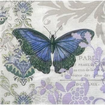 Χαρτοπετσέτα για Decoupage, Vintage Papillon / 7727