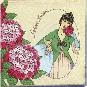 Χαρτοπετσέτα για Decoupage, Ladies Finest / LU131360