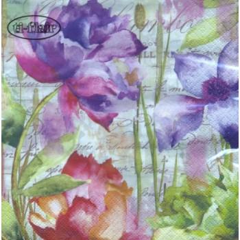 Χαρτοπετσέτα για Decoupage, Colori Primaveridi / 389311