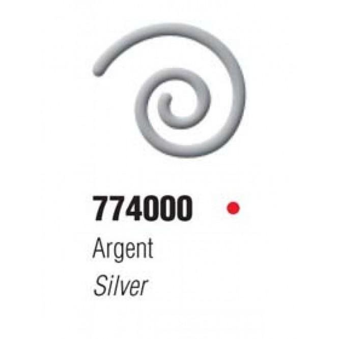 Vitrail Cernes Relief Outliners 20ml (Ανάγλυφα περιγράμματα για γυαλί κλπ) - Silver