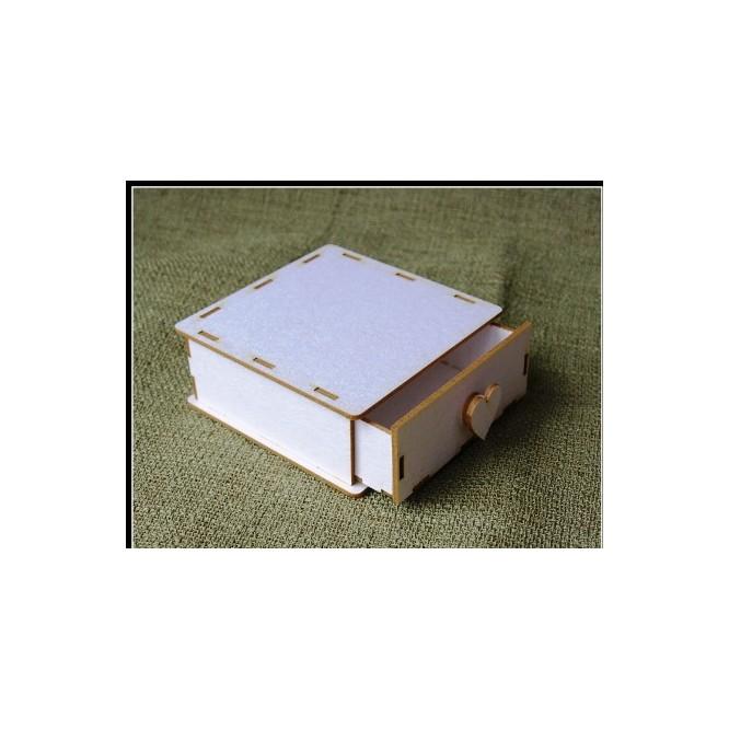 Διακοσμητικά 3D Chipboard (6,7cm x 6,7cm x 2,1cm)