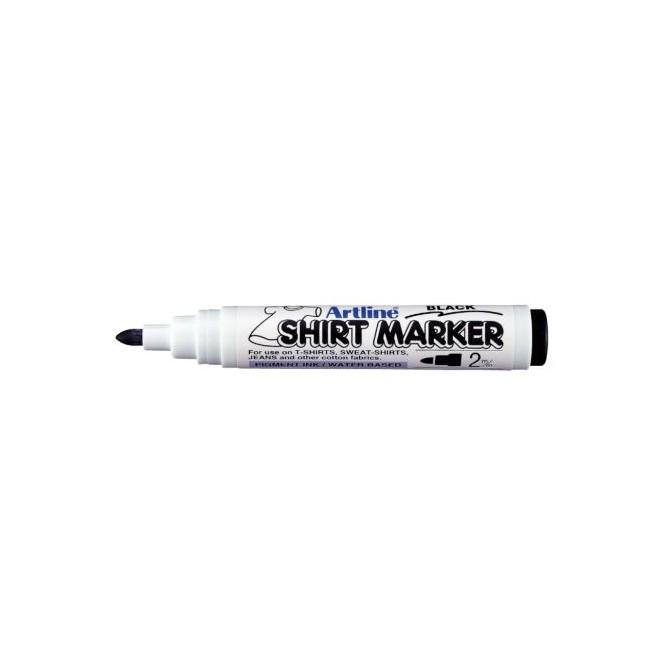 Μαρκαδόροι Υφάσματος Artline T-Shirt marker EK-2 (2mm, Μαύρο)