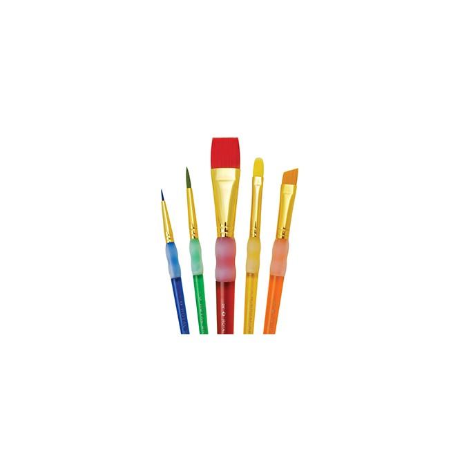 Σετ Πινέλα Royal Flat Variety Brush Set (5τεμ)