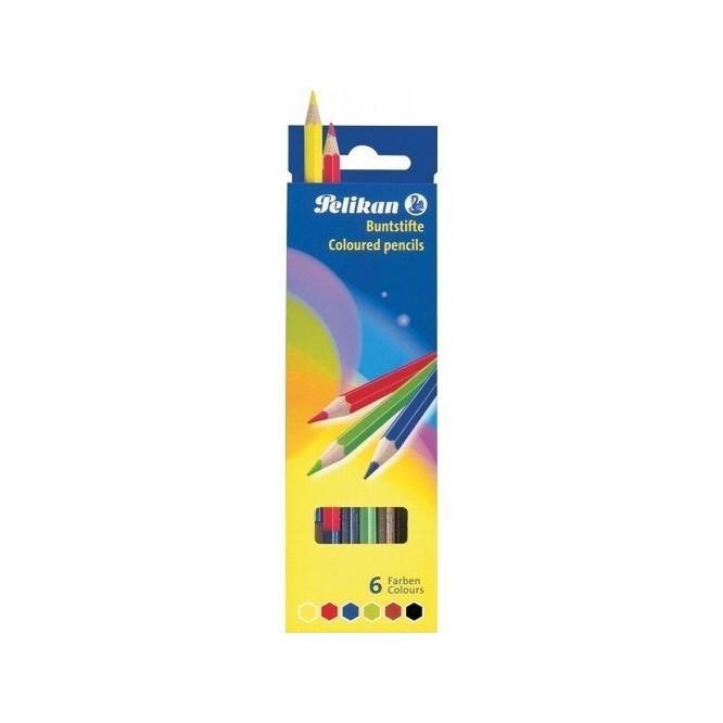 Σετ Ξυλομπογιές Pelikan 6 χρωμάτων