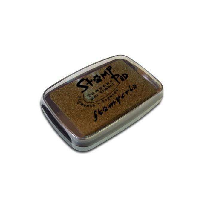 Ταμπόν (Μελάνι) για σφραγίδες Stamperia 7,5x5cm, Καφέ / WKP03G