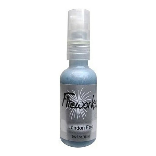 Mists Memento Fireworks Spray Ink 15ml (Tsukineko), London Fog