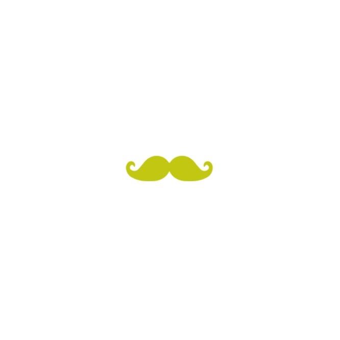 Κοπτικό Craft Punch 5cm Mustache