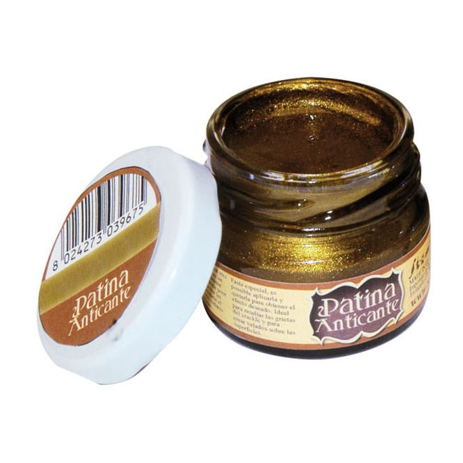 Patina Anticante Stamperia 20ml, Old Gold