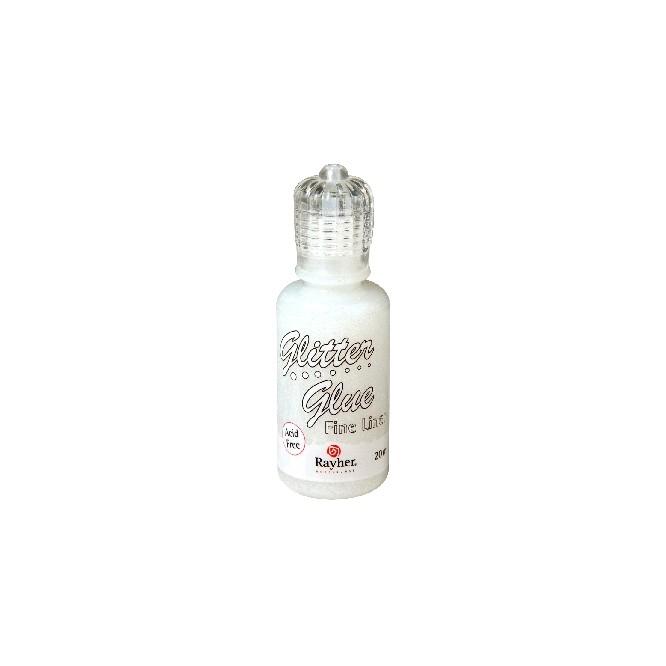 Iridescent Glitter Glue 20ml, Moonstone / Γκλίτερ με κόλλα για 3D αποτέλεσμα / RA33841120