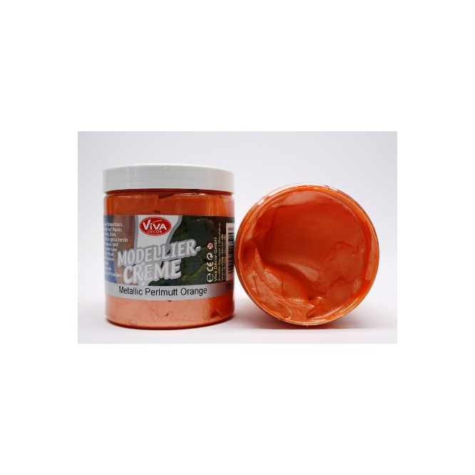 Modellier-Creme (Πάστα για ανάγλυφα) 90ml - Perlmutt Orange