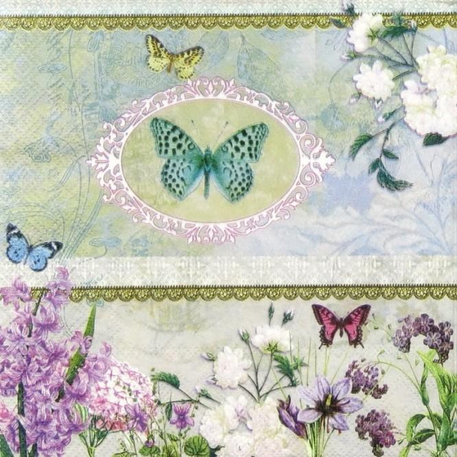 Χαρτοπετσέτα για Decoupage, Butterfly Medallion / 13308320