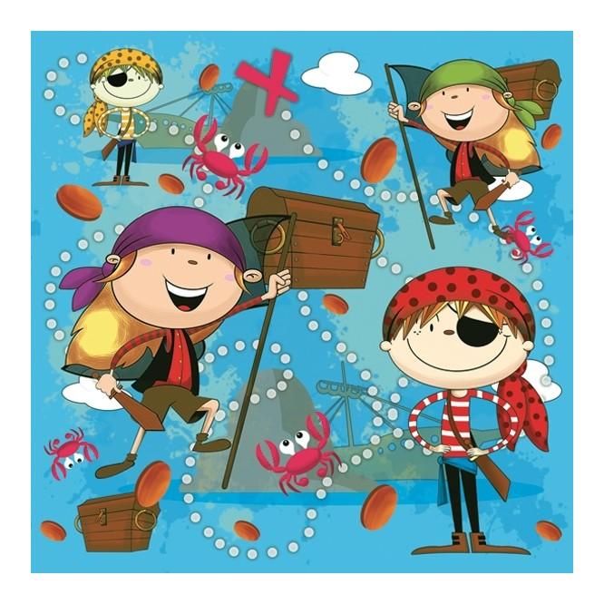 Χαρτοπετσέτα για Decoupage, Pirates / SDOG-012501