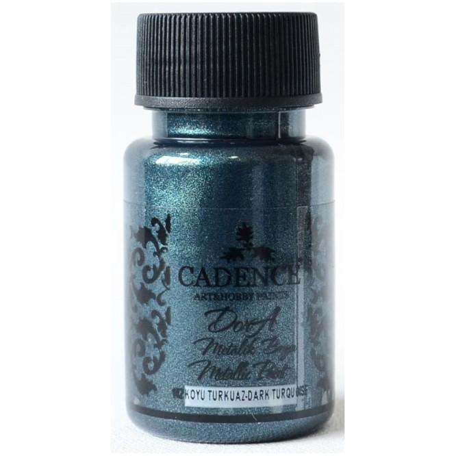 Dora metallic Cadence 50 ml, Turquoise / DM142