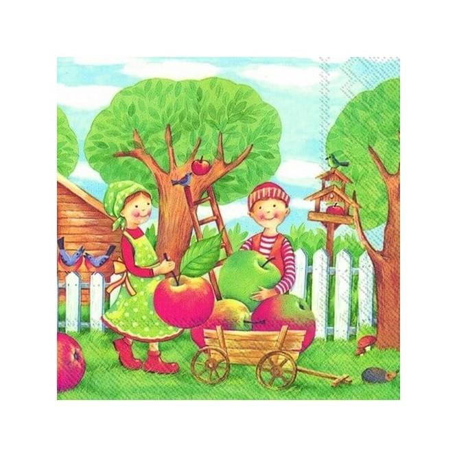 Χαρτοπετσέτα για Decoupage, Im Apfelgarten / L-569800