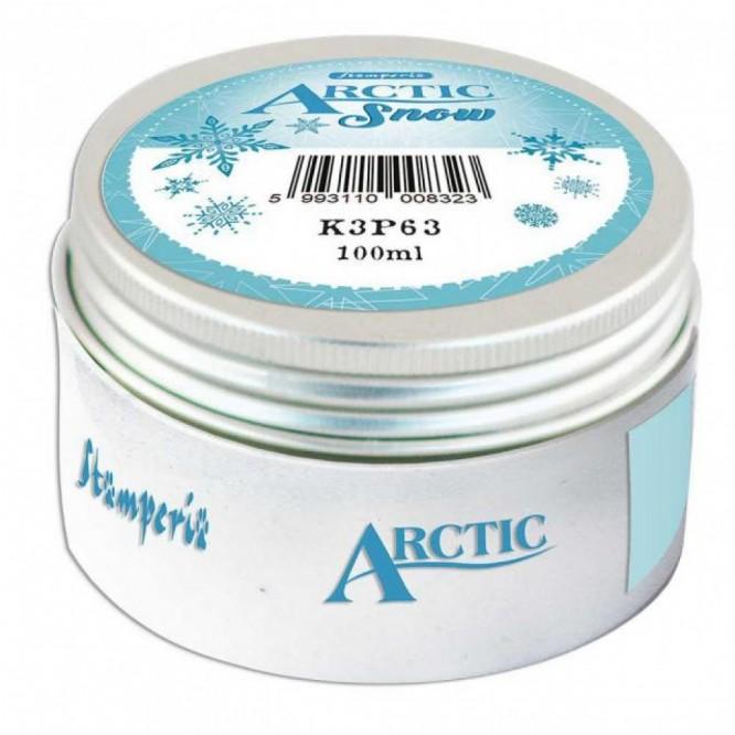 Arctic Snow Stamperia 100ml, White / Εντυπωσιακό γκλίτερ λευκό για να δώσετε στα έργα σας μια αίσθηση χιονισμένου / K3P63
