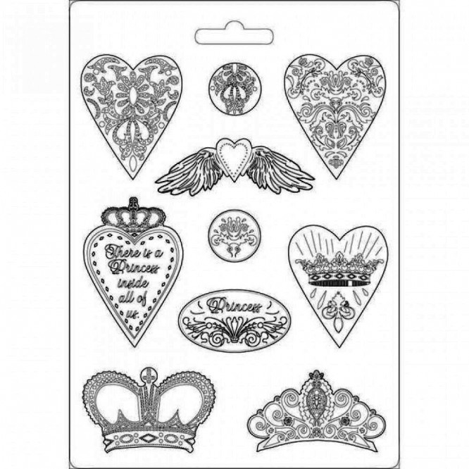 Hearts and crowns / K3PTA471