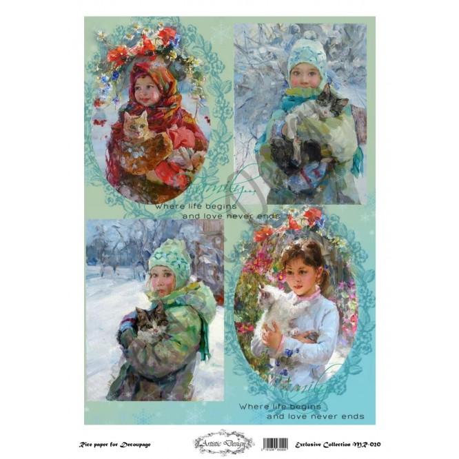 Ριζόχαρτο Artistic Design για Decoupage 30x40cm, Kids / MR020
