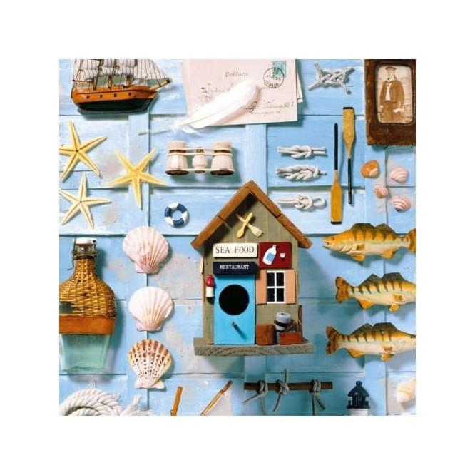Χαρτοπετσέτα για Decoupage, Nautica / NV-74485
