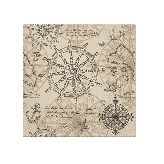 Χαρτοπετσέτα για Decoupage, Cartography / SDL123500