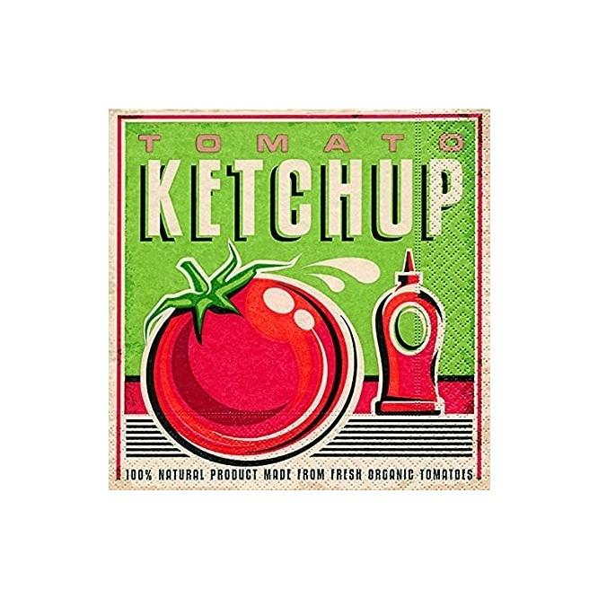 Χαρτοπετσέτα για Decoupage, Tomato ketchup / PD-21817