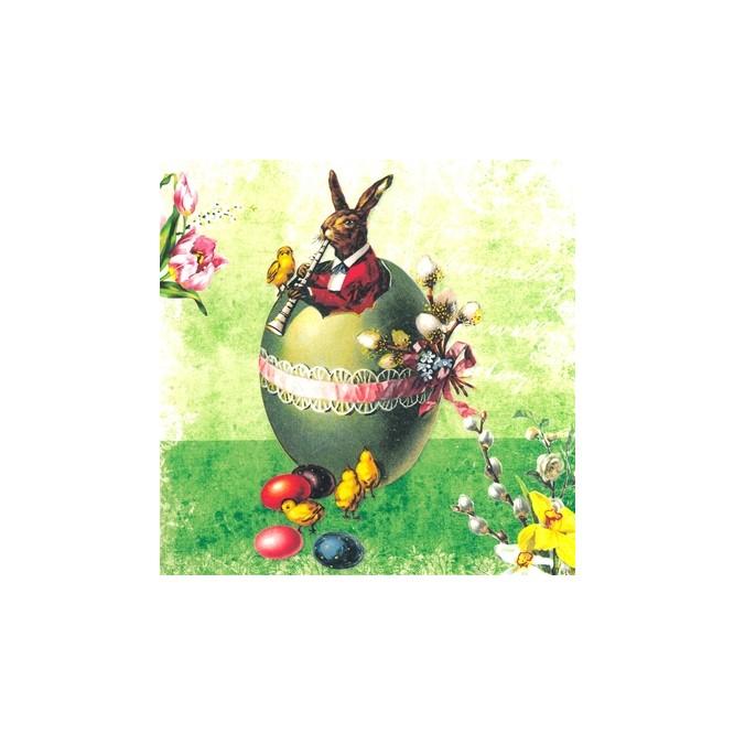 Πασχαλινή Χαρτοπετσέτα για Decoupage, Easter Concert / 7681