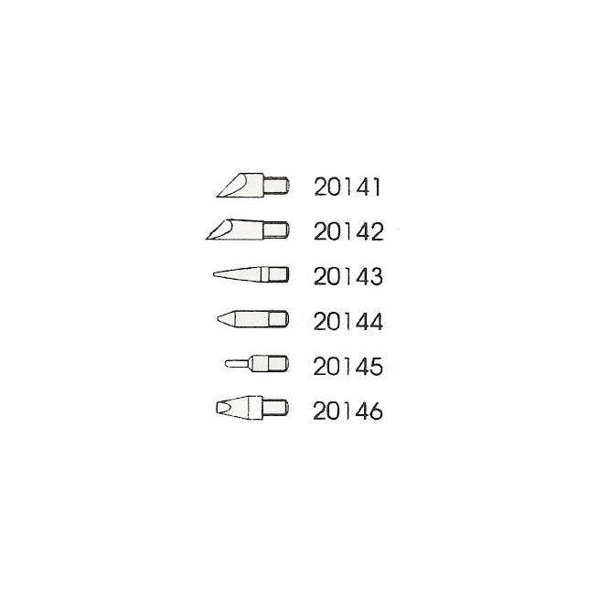 Βιδωτές Μύτες Πυρογράφου (6 τεμ) Startec 20149