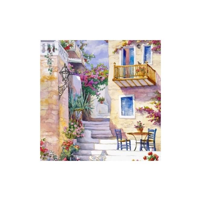 Χαρτοπετσέτα για Decoupage, Basking in Summer/s Sun / 344625