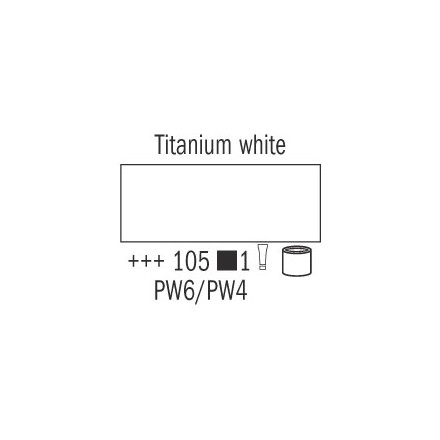 Λάδι Van Gogh Talens 60ml, Titanium White