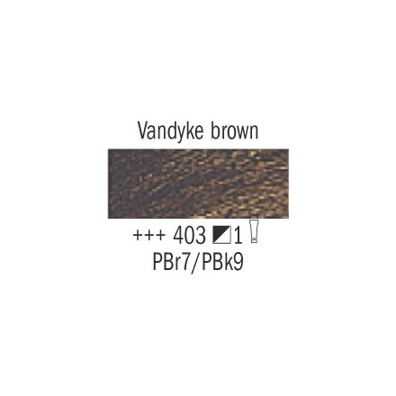 Λάδι Van Gogh Talens 60ml, Vandyke Brown