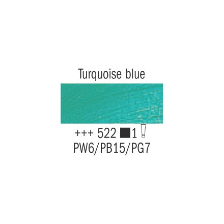 Λάδι Van Gogh Talens 20ml, Turquoise Blue