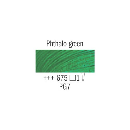 Λάδι Van Gogh Talens 20ml, Phthalo Green